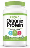 Orgain Organic Plant Based Protein Powder Natural Unsweetened Vegan Non-GMO Glut