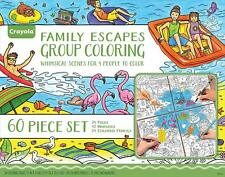 Crayola Family Escapes Group Coloring Kit 60 pcs