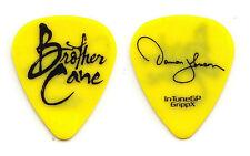 Brother Cane Damon Johnson Signature Yellow Guitar Pick - 2012 Tour