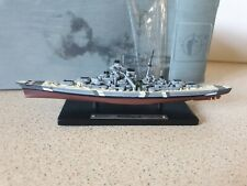 ATLAS EDITIONS - BISMARCK - SMALL SCALE MODEL - BATTLE SHIP COLLECTION