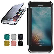 Funda Con Tapa Para Apple IPHONE 6S / 6 Protectora Espejo Estuche Transparente