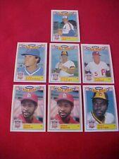 Lote De (7) 1985 Topps Lustroso All-Stars 2-Ozzie Herrero, 1-Tony Gwynn ,