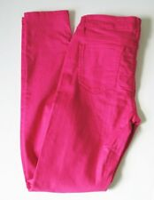 Celebrity Pink Womens Juniors Jayden Skinny Jeans Colored Wash Beetroot Sz 9/29