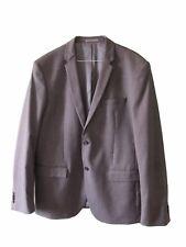 CALVIN KLEIN Men's New Grey Tailored Fashion Blazer Jacket sz EU 56 UK 46 €329
