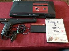 Sega Master System Light Phaser hang on safari AS IS NOT TESTED NO CORDS Console