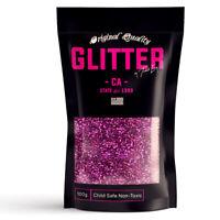 Pink Fuchsia Premium Glitter Multi Purpose Dust Powder 100g / 3.5oz Cosmetic