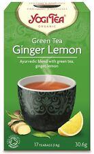 Yogi Tea Té Verde Jengibre Lemon Tea - 17 Bolsas