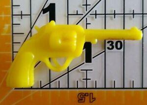 Vintage YELLOW PISTOL GUN Cracker Jack Gumball Toy Prize Premium 4A