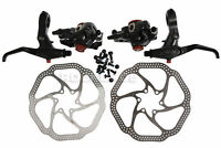 AVID BB7 Mountain Bike Disc Brakes Caliper + FR7 Brake Lever + 160mm HS1 Rotors