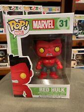Pop Marvel Red Hulk 31 Funko Pop Vinyl US Excl EXPERT PACKAGING