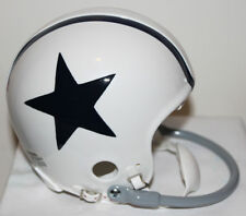 Don Meredith Dallas Cowboys Riddell Custom Mini Helmet 1 Bar Face Mask 1960-1963