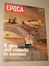 EPOCA=1977/1374=PIGAFETTA CAMION=MARIUCCIA MANDELLI=HASSE JEPPSON=MONTECCHIO M.