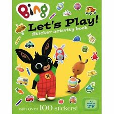 Let's Play sticker activity book (Bing) - Paperback NEW  2015-12-31