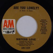 SISTERS LOVE: Are You Lonely? / Ring Once A&M Soul Funk 45 MP3