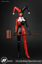 1/6 Scale Pc003 Harlep The Female Joker Clothing Suit No Body & Head