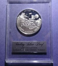 New ListingApollo 15 Franklin Mint Sterling Silver medal