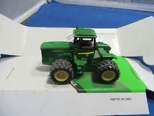 Ertl 1/64 scale Jd 4 Wd Farm Tractor with traction motor