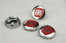 4 x Pcs Fiat Wheel Center Caps  60mm Badge ALLOY Rims Logo Emblem 60 mm UK