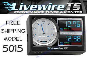 SCT Livewire Touch Screen 5015 Tuner For Ford Powerstroke Diesel Engines HP MPG