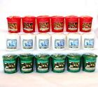 Yankee Candle Christmas & Holiday  Votive~ You Choose~~ Lot x 6~~
