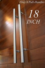 "Pulls Handles 18"" Entry Door / Gate entrance door pull  stainless steel Modern"