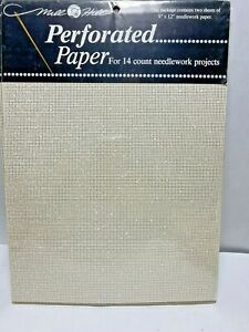 Mill Hill Perforated paper 14 count cross stitch