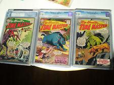 DC Silver Age Comics Rip Hunter CGC/PGX 3 lot all graded 7.5 #2. #5, #7