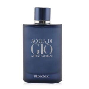 NEW Giorgio Armani Acqua Di Gio Profondo EDP Spray 125ml Perfume
