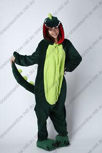 Green Dinosaur Onsie Kigurumi playsuit pajama