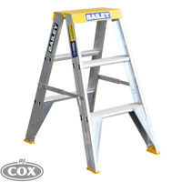 Bailey Pro Aluminium Big Top DS3 PUNCHLOCK® 150KG FS13393 Double Sided Ladder