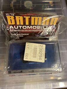 Batman Automobilia Issue No.18 Eaglemoss Magazine & Car