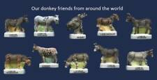AMAZING MINIATURE PORCELAIN, OUR DONKEY FRIENDS FROM AROUND THE WORLD *RARE*