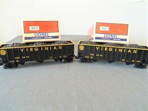 Lionel 6-52380 & 6-52381 LOTS Virginian Coal Hoppers