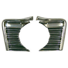 GRILLE EXTENSIONS; L/R PAIR; 67 CHEVELLE/EL CAMINO [PAINT FOR SS-396/CONCOURS]