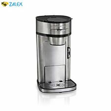 Hamilton Beach Scoop Single Serve Coffee Maker, Fast Brewing, Stainless Steel (4