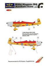 LF Models Decals 1/72 MILES MAGISTER Mk.I AEROBATIC TEAM with Resin Parts