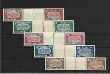 israel stamps 1948 new year festival 10-14 tete beche set m.n.h.