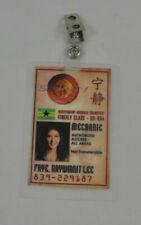 Serenity Firefly ID Badge Mechanic Kaylee