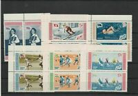 Dominican Republic 1958 Olympic Games Mint Never Hinged Stamps Ref 31328