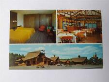 LES PINS MOTEL POSTCARD GRANBY QUEBEC DINING ROOM GOLF COURSE NEARBY
