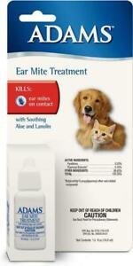 Adams Ear Mite Treatment 0.5oz