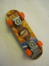 Orange McDonalds Meal Obi-Wan Skate Board Finger Board dated 2010 (0008)