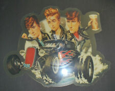 THE STRAY CATS  1983 SHAPED VINYL PICTURE PIC DISC 45