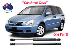 2 x New BONNET Gas Struts suit Kia Carnival and Grand Carnival 2006 to 2012