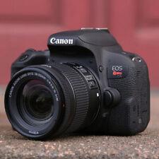 Canon T7i EOS Rebel DSLR Camera EF-S 18-55mm IS Lens (2 LENSES) 1894C002AA