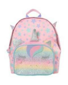Backpack with 3D Unicorn features and wings