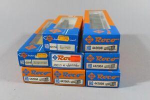 H 81047 Sammlung originalverpackter Roco H0 Eisenbahnwagen