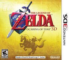 The Legend of Zelda: Ocarina of Time 3D - Nintendo 3DS Game