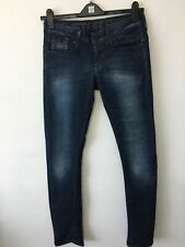 G Star Corvet Skinny Raw Denim Blue Jeans Size W31 L32 Ladies NWOT