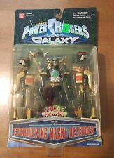1998 Bandai Power Rangers Lost Galaxy Conquering Magna Defender With Box